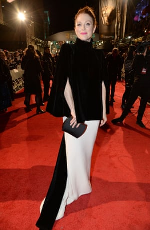 Julianne Moore on the red carpet.