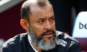 Nuno Espírito Santo, manager of Wolves, has picked the same starting XI in all eight Premier League games so far and will face Watford on Saturday afternoon.