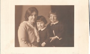 Ian Goldsmith's grandmother, father Saloman (right) and uncle Bruno. The boys were 13 and 12 when they arrived in Harwich on the first Kindertransport.