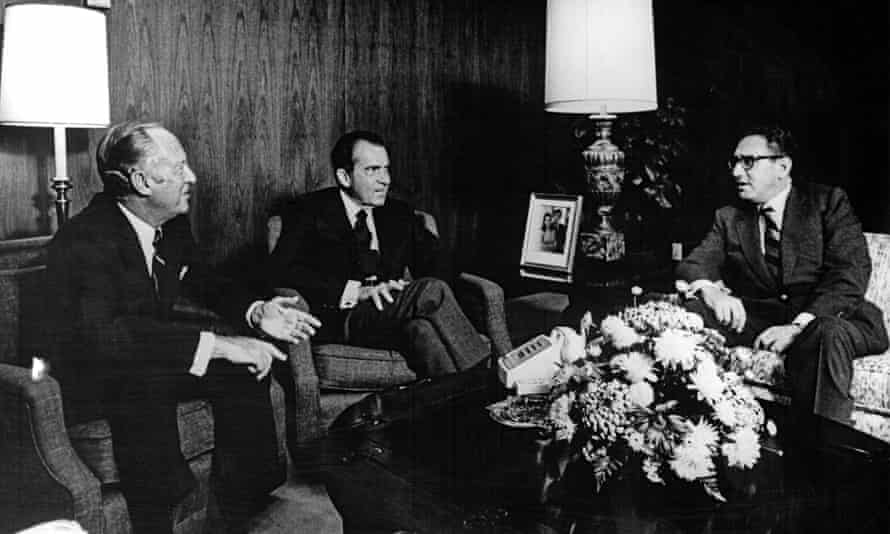 Henry Kissinger, Richard Nixon and William Rogers