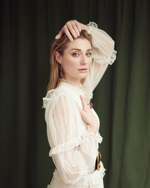 Actor Elizabeth Debicki photographed for an interview in the Observer Magazine.
