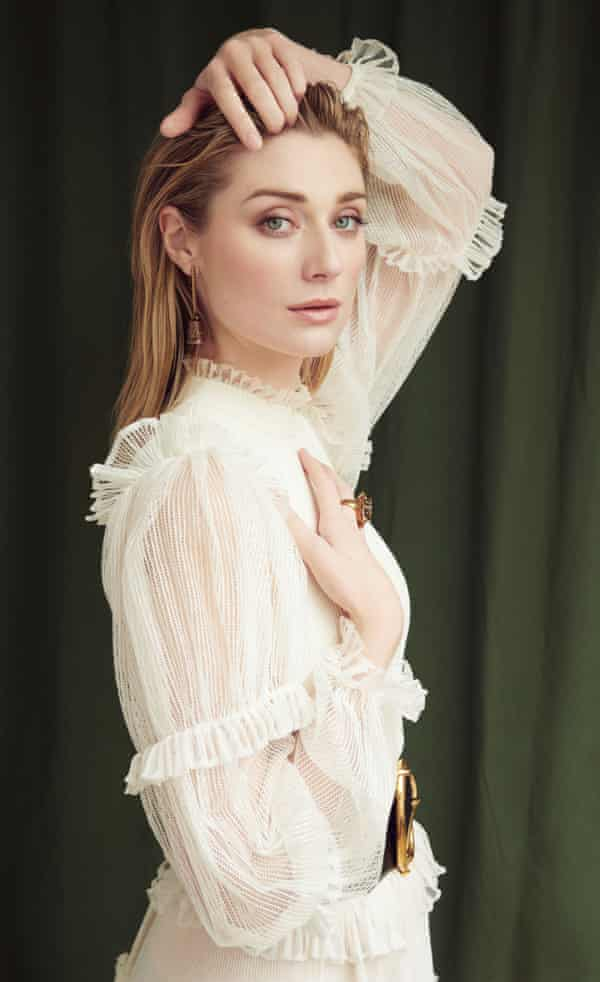 'I always look for a challenge' Elizabeth Debicki wears dress, jewellery and belt all by Alexander McQueen.