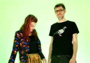 Elizabeth Saint-Jalmes and Cyril Leclerc.