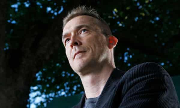 David Mitchell. Photograph: Murdo MacLeod for the Guardian