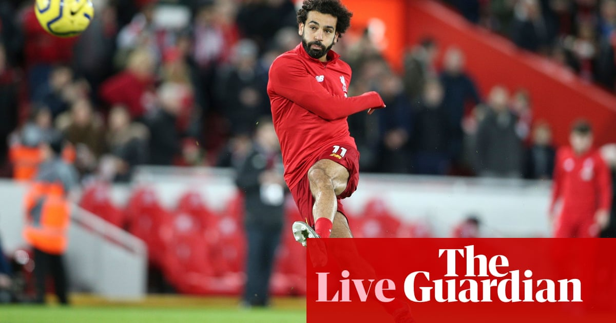 Liverpool v Sheffield United: Premier League –live!