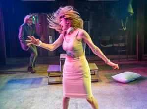 Sara Stewart (Betty 1) and Lucy McCormick (Betty 2) in Collective Rage by Jen Silverman @ Southwark Playhouse.