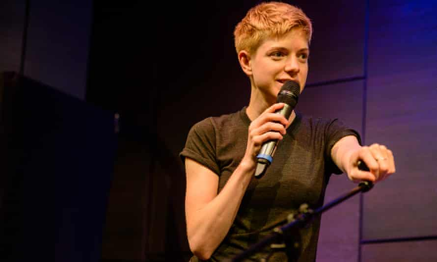Her real first name, jokes Mae Martin, is 'lesbian comedian'.