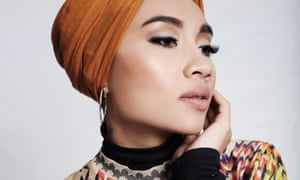 Yuna: 'I honestly don't know how it started, this hijabi fashion thing, but I'm glad it has.'