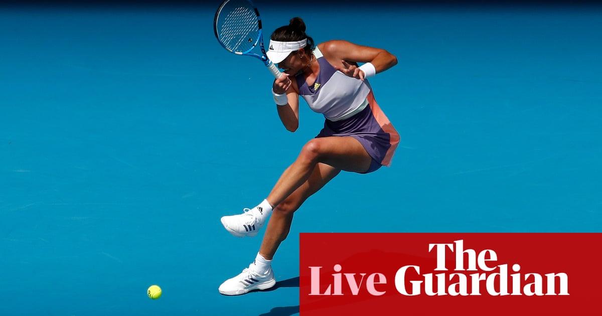 Australian Open 2020: Svitolina v Muguruza, Verdasco v Zverev and more – live!