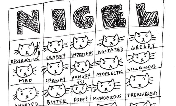 Nigel – the Mean Spirited Cat