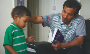 Afham and one of his sons