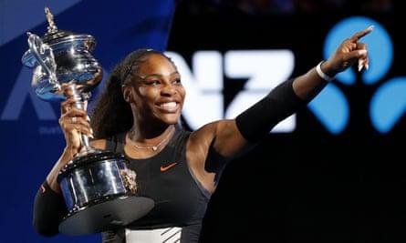 Serena Williams won her last grand slam title at 2017's Australian Open