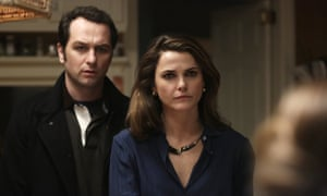 'The premise is dynamite': Matthew Rhys and Keri Russell in The Americans.