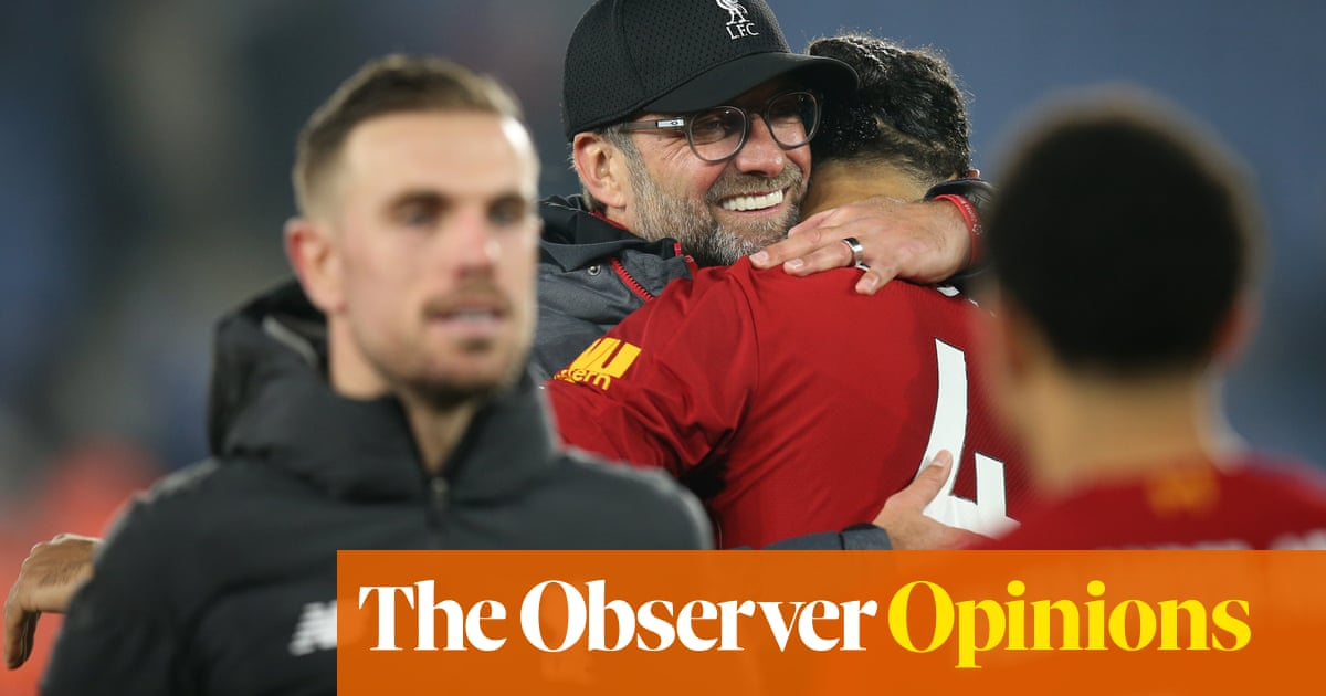 Will anything now derail Liverpool's bid for a first league title in 30 years? | Jonathan Wilson