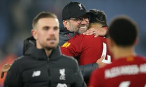 Jürgen Klopp embraces Virgil van Dijk and must know his Liverpool side would become vulnerable without the Dutch defender – not the only player who would be difficult to replace were he to be injured.