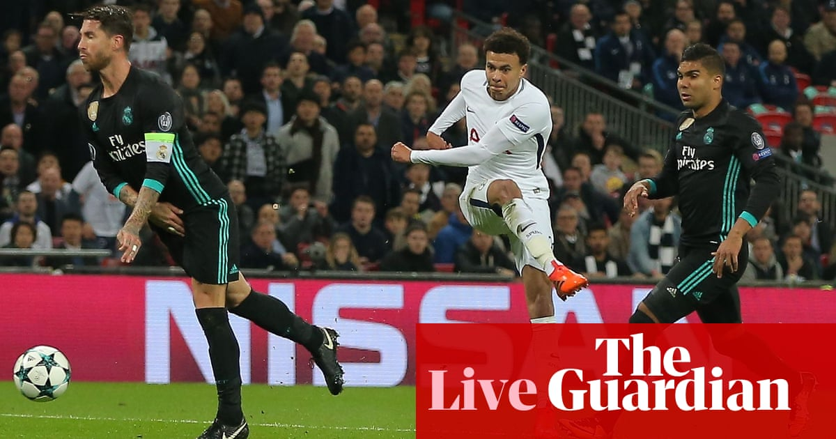a5c256a37 Tottenham Hotspur 3-1 Real Madrid  Champions League – as it happened ...