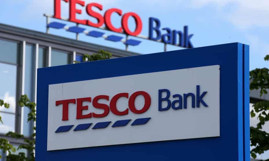 Tesco Bank sign