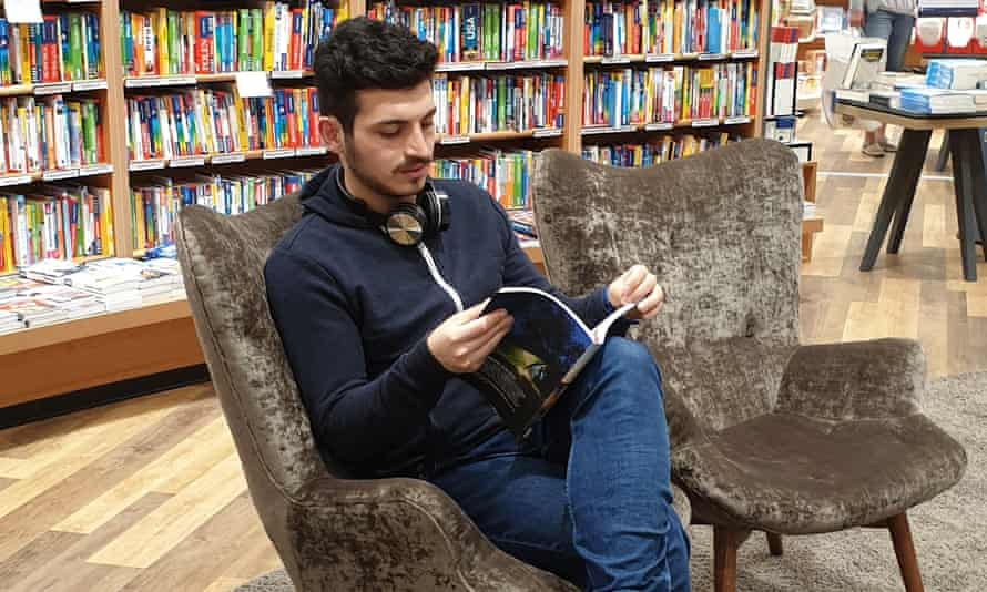 Mohammad Hallak, 21, from Aleppo, Syria, is now studying computer science in Gelsenkirchen.