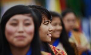'Joy-wise, Bhutan is roughly on a par with Denmark.'