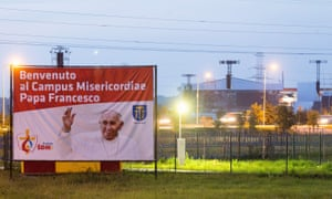 The Campus Misericordiae where the World Youth Day will take place.