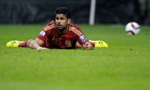 Diego Costa switched his international football allegiances from  his native Brazil to Spain last year