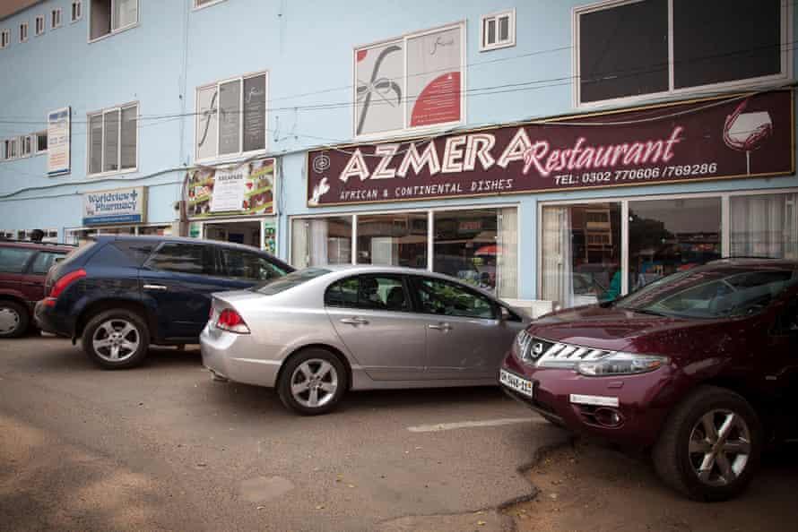 Azmera restaurant in Accra.