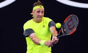 Tennys Sandgren faces Hyeon Chung in the Australian Open quarter-finals