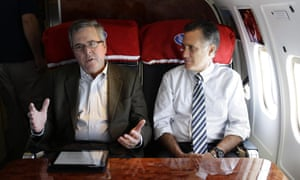 Mitt Romney and Jeb Bush