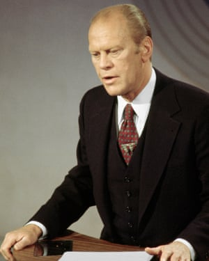 Gerald Ford Debating Jimmy Carter