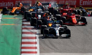 F1 will feature 22 races in the 2020 season.