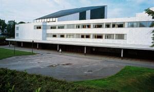 Lappia Hall in Rovaniemi, designed by Alvar Aalto.