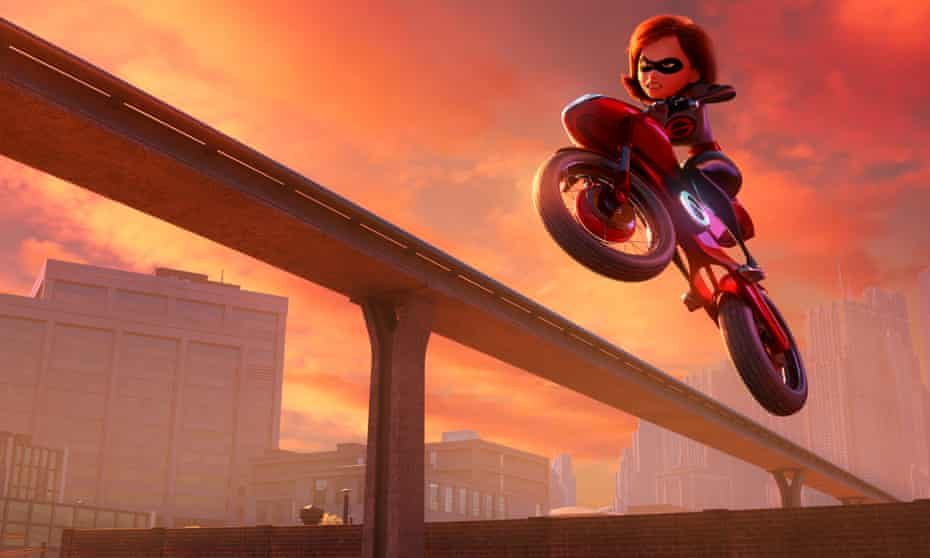 A #MeToo-era spin … Elastigirl in Incredibles 2.