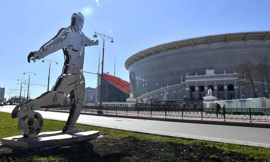 Yekaterinburg's new stadium.