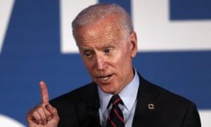 Joe Biden voiced support for the Hyde amendment on Wednesday.