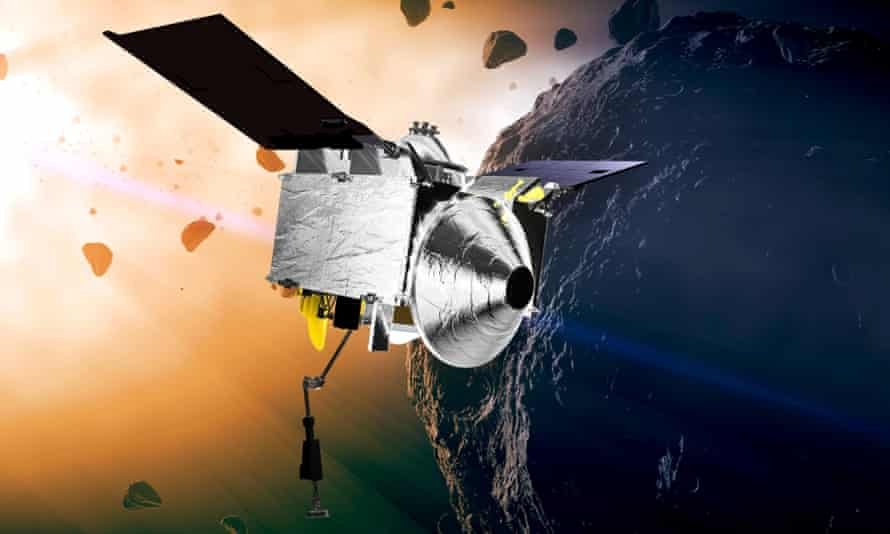 Osiris-Rex is making the long journay back to Earth after visiting the asteroid Bennu.