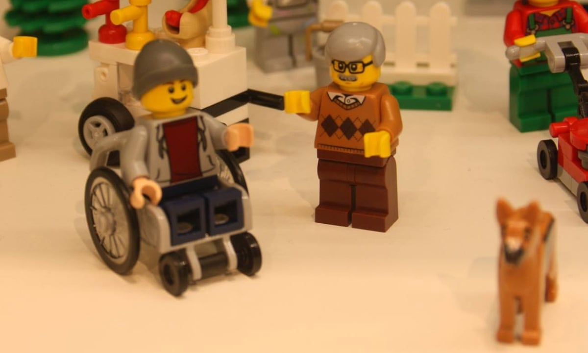 Lego unveils first ever disabled minifigure