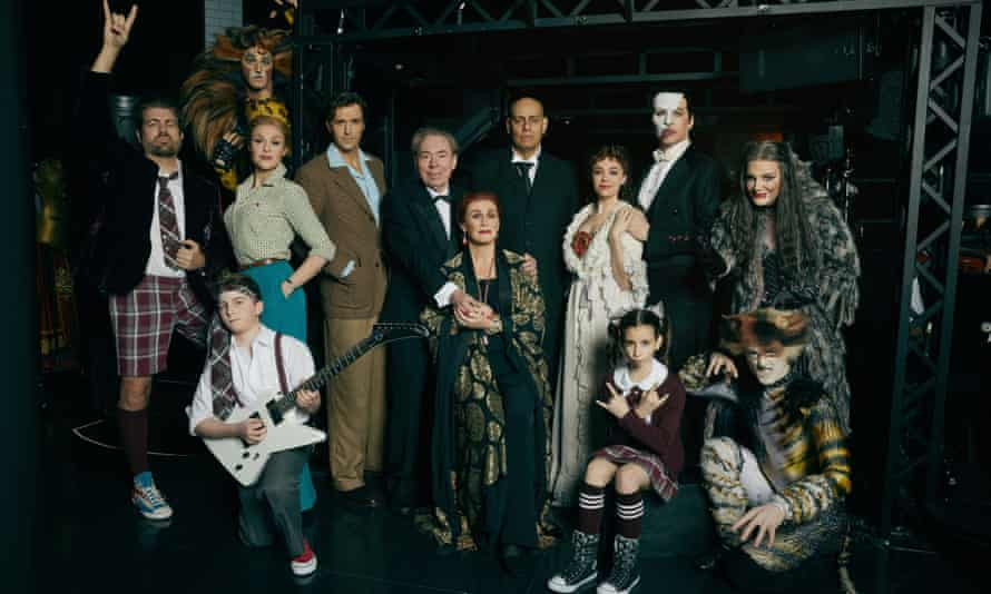 Lloyd Webber made showbiz history in February with four shows running concurrently on Broadway.