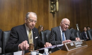 'In case there is any confusion over whether this obvious political ploy would work, let me be crystal clear: it won't,' Chuck Grassley said during a judiciary committee business meeting.