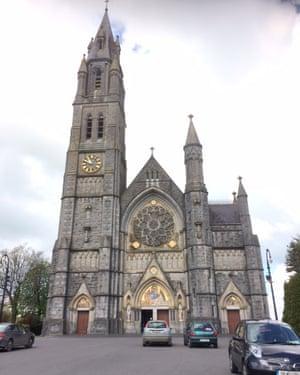 Sacred Heart church in Roscommon, Ireland