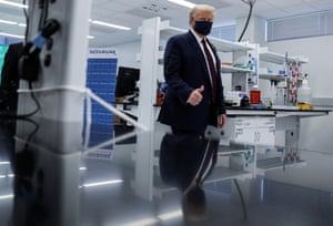President trump visits the fujifilm diosynth biotechnologies innovation center in morrrisville, north carolina