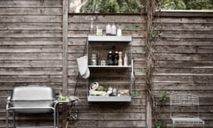'The design can be as slick or as rudimentary as your budget and skills dictate': String outdoor shelving, from £42.50, utilitydesign.co.uk