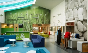 The education centre at Polmont young offender institution near Falkirk, Scotland