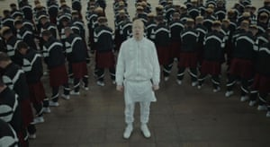 A still from the Romain Gavras-directed video for Gosh by Jamie xx