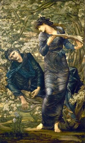 The Beguiling of Merlin, 1872–7 by Edward Burne-Jones.
