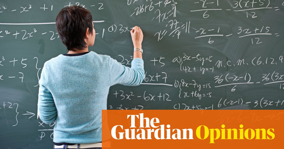 International maths and science rankings: keep calm but change ...