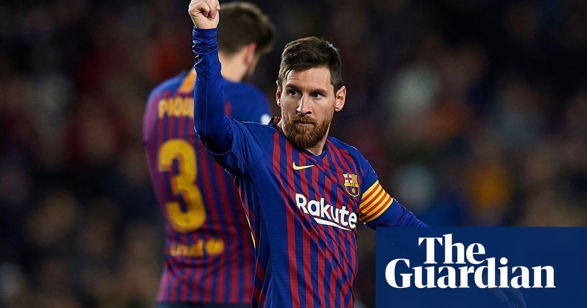 9437579929 European round-up  Real seal late win as Messi reaches 400 La Liga ...