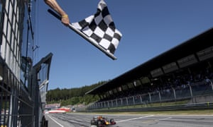 Max Verstappen won the Austrian Grand Prix but it took over three hours to confirm his victory.
