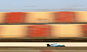 George Russell was finally able to drive the Williams on day three of Formula One testing in Barcelona.