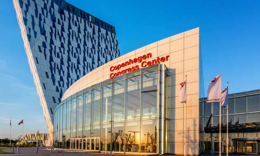 Copenhagen Congress Center, where the Liberty Forum conference was held.