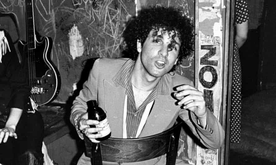 Sylvain Sylvain in 1977.